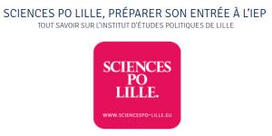 Toutes les infos sur la prépa concours Sciences Po Lille sont à retrouver sur cours-thales.fr