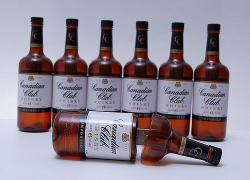 Canadian Club Bottle USB Drive