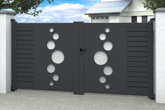 portillon aluminium