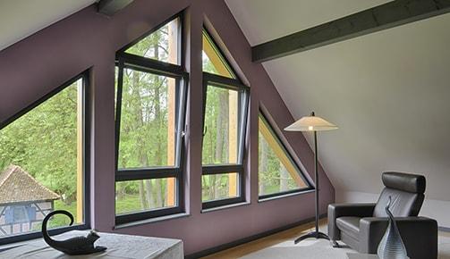 Tryba : des fenêtres PVC bois ou métal de la forme et de la couleur que l'on veut…